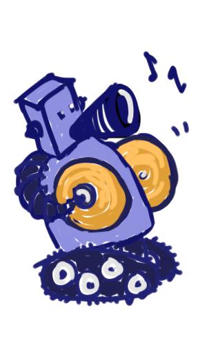 robot + yammering